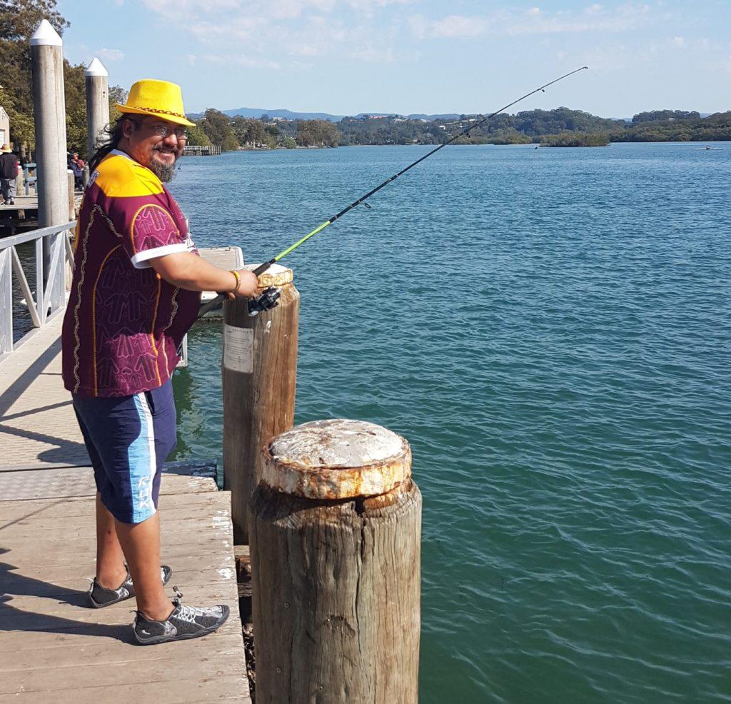 Willam fishing